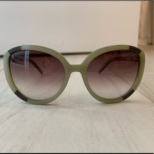 Chloe Olive Green Sunglasses